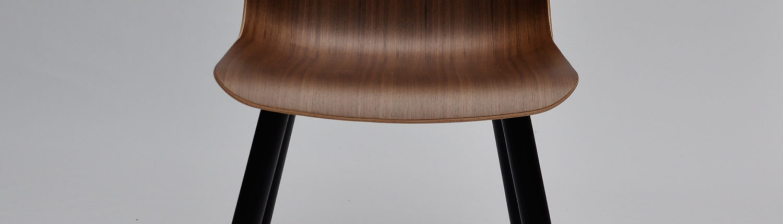 Stuhl aus Formsperrholz