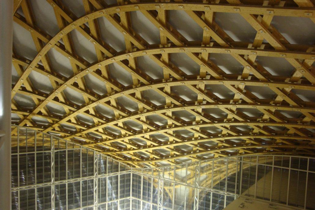 Dachkonstruktion Centre Pompidou