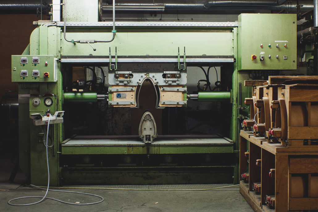 Herstellung von Formsperrholz