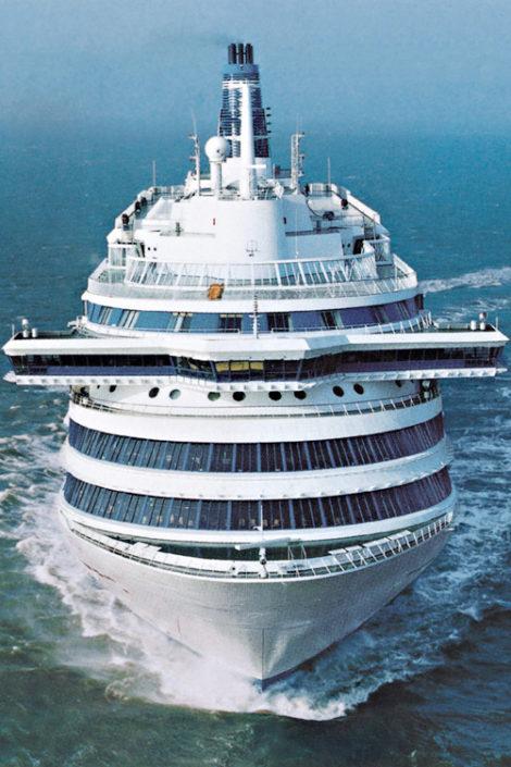 Schiff von vorne